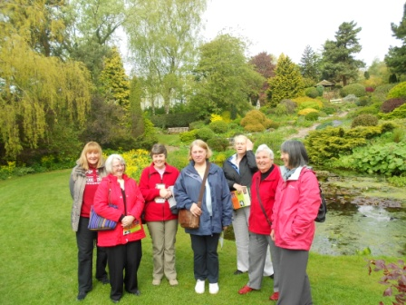 on sunday 20th may members of the gardening club drove to willoughbridge market drayton to visit the dorothy clive gardens